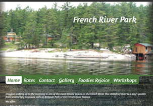 french river park website